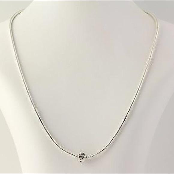 e26f7ff2a Authentic Pandora Sterling Silver Charm Necklace. M_5b23197d3c98440ae8135af5
